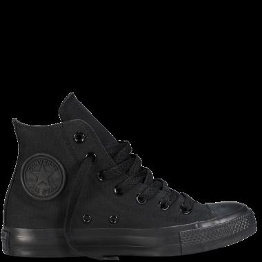 کفش راحتی کانورس مدل Chuck Taylor Classic Hi BLACK M3310
