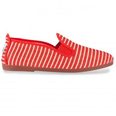 Flossy - Stripes Alfaro Red 5584 فلــوسـی