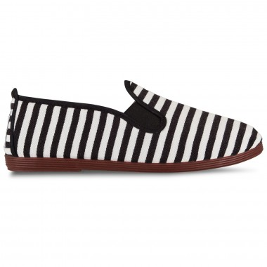 Flossy - Stripes Corella Black  فلــوسـی