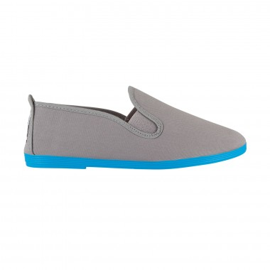 Flossy - Luna Grey Blue  Sole Colors
