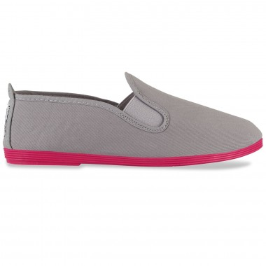 Flossy - Luna Grey Pink  Sole Colors