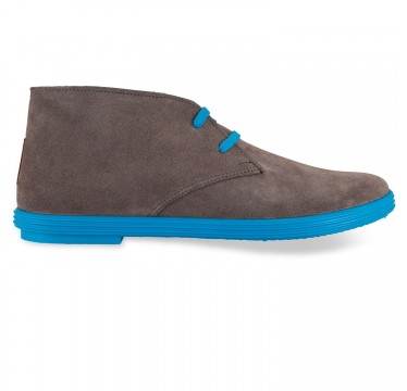 Flossy - Desert boot Grey Blue