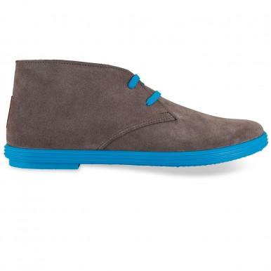 Flossy - Desert boot Grey Blue  فلــوسـی